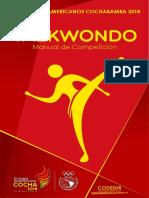 manual de competencia taekwondo olimpico