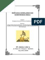 RKK (Rencana Keselamatan Konstruksi)