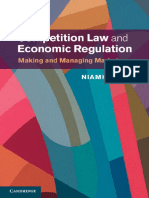 Competition Law and Economic Regulation - Niamh Dunne