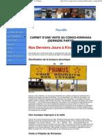 CARNET D'UNE VISITE AU CONGO-KINSHASA5