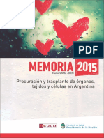 memoria 2015 transplante organos