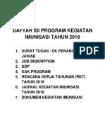 daftar isi program