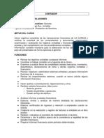 Modelo de Manual de Funciones