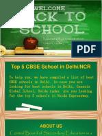 Top 5 CBSE School in delhi NCR