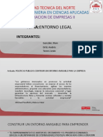 Exposicion Entorno Legal