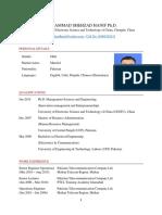 MSH Resume PhD