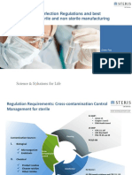 Cleaning & Disinfection Regulations and Best Practice for Sterile and Non Sterile Manufacturing