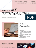 Report 201 - Library Technologies