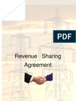 Revenue sharing agreement