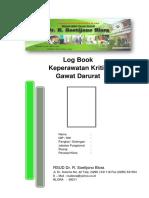 Log Book  PERAWAT Igd
