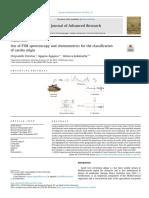 Christou_2018_Use of FTIR spectroscopy and chemometrics for the classificationof carobs origin.pdf