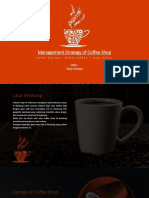 Management Strategies of Coffee Shop