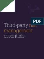 eBook Third Party Risk Management Man