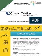 ERUPSEA Partnership Proposal - Singapore - Standard Tour