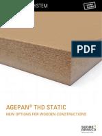 AGEPAN THD Static Technical Data Sheet
