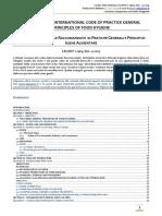 HACCP Codex