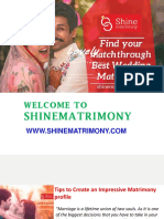 Shinematrimony a Perfect Platform for Matchmaking