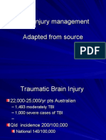 Head Injury Management Edited