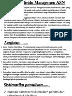 Tugas Individu Manajemen ASN.ppt