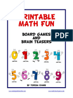 Printable Math Fun - Math Board Games ( Pdfdrive.com )