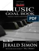 The Music Motivation Goal Book Sample PDF Book