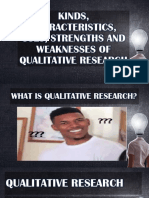 Kinds of Qualitative Research Characteristics Uses (1)