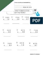 Practica Califica de Matemática