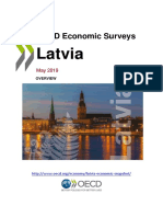 Latvia 2019 OECD Economic Survey Overview