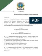 Lei Organica Carlos Barbosa Rs