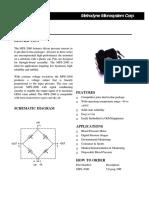 Sensor Presión Tensiómetro Pressure Sensor METRODYNE MPS2000