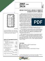Datasheet IC ULN Series-Allegro