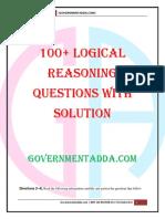 Logical Reasoning Governmentadda.com