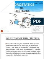 fluid statics ppt