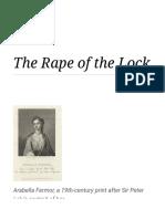 The Rape of the Lock - Wikipedia