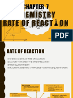 SPM Form 4 Chapter 7 Rate of Reaction. Note