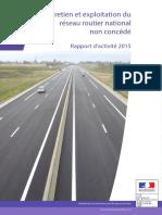 entretien exploitation réseau routier