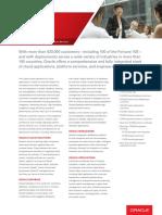 Oracle Fact Sheet
