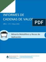 Informe Cadena de Valor Mineria Argentina