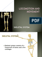 Locomotion and Movement - Skeletal System