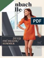 Steinbach Wolle Fruhjahr - Sommer Magazine 2019