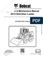 Bobcat S510 Operation Manual