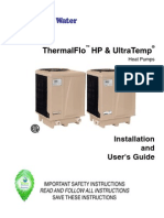 Heritage 13 Heat Pump Outside Unit Owners Manual Air