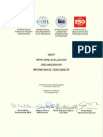 BIPM OIML ILAC ISO Joint Declaration 2018