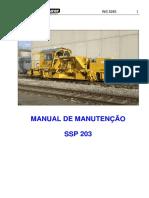 Manual de Manutenção SSP 203
