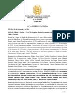NUEVA DIRECTIVA DEL TSJ EN EL EXILIO