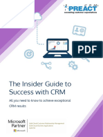 Inside Guide to Success with CRM