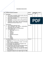 Daftar Tilik Pengambilan Drh AGD Assesi