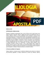 APOSTILA BIBLIOLOGIA