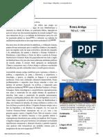 Roma Antiga – Wikipédia, A Enciclopédia Livre