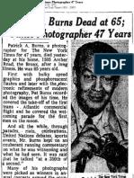 Pat Burns's Obituary